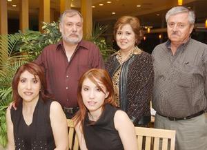 Enrique Alejandro García, Martha Patricia Ochoa de García, Patricia García, Eduardo Madero y Ana Lourdes Madero.