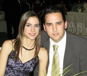 Daniela Murra y Rogelio Cuéllar.