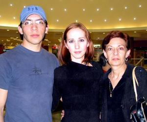 Daniel Gallardo, Bernardette V. Jerkov y Bernardette Jerkov.