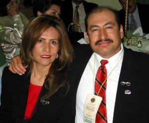 Arturo Aguilera Dávila y Beatriz Leaños de Aguilera.