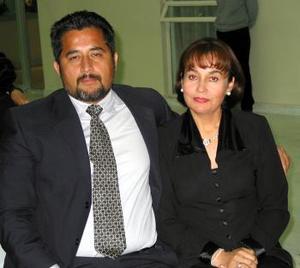 <b><u> 29 de febrero </u> </b><p> Alfredo Silva Venegas y Laura Silva de Silva.