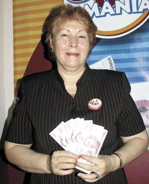 María de los Ángeles Saucedo de Rodríguez