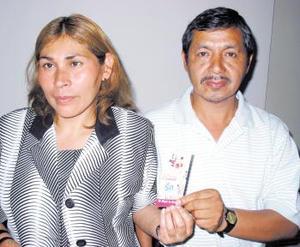 Olivia Zúñiga González y su esposo Indalecio Abundis Ramírez, pasan a forman parte de la gran lista de beneficiados de la Siglomanía