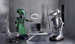 Los robots El y Ella presentados en la Feria del Libro de Neiman Marcus son los robots más avanzados en la actualidad con un costo  aproximado de 400 mil dólares.