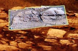 El anuncio se produjo como resultado de las exploraciones realizadas por los vehículos robóticos Spirit y Opportunity que llegaron a la superficie del planeta rojo en enero para analizar la estructura geológica de Marte.