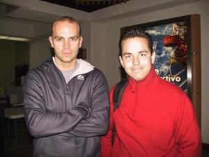 Antes de viajar al D.F. Alfonso Arceo fue despedido por Marco Martínez.