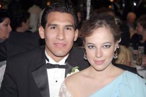 Francisco Cázares Villalobos e Isabel Cobo Boheringer.