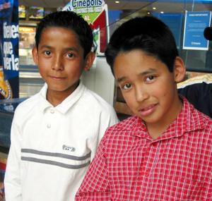 Pedro Aguilar y Roberto Carlos.