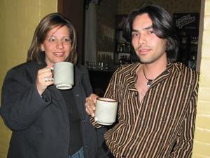 Mónica Treviño Valdés y Jorge Ramos Rodríguez.