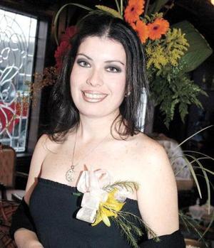 <b><u>01 de marzo </b></u><p>  Dra. Laura Dánae Carrillo Ramos fue festejada con un convivio de despedida por su próximo enlace con Israel Romero Rodríguez.