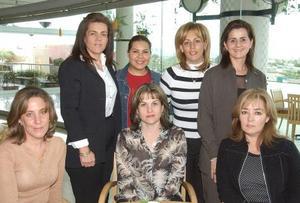 <b><u>03 de marzo </b></u><p> Rebeca de Cansino, Cecilia Natera, Marcela de Franco, Alma de Olivares, Mary Armendáriz, Mayela de Olivares y Malena Gilio.