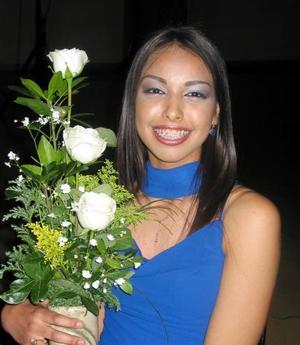 Tania Araceli Reyes Zavala participó en el concurso La Estudiante Ideal 2004.