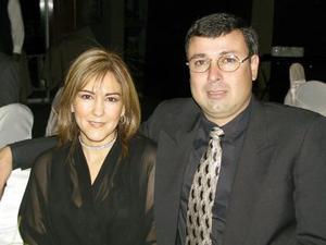 Perla de Sánchez y Javier Sánchez.