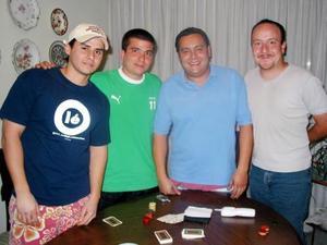 <u><b>05 de marzo </u> </b> <p> Alberto Madero, José Lorenzo del Bosque, Juan Carlos Pámanes y Alejandro Aguilar.