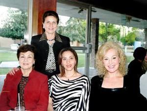 <b><u>05 de marzo </b><u><p> Carmen M. de Leal, Luz María Cantú de Tricio, Lucero Leal de Cantú y Josie Leal de Barraza.
