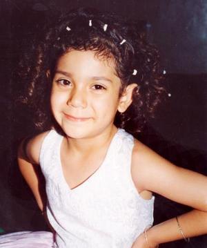 Aidé Paulina Mondragón García festejó su sexto cumpleaños de vida en fecha pasada.