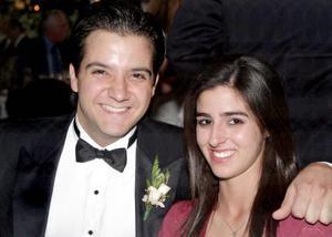 Carlos George Villalobos y Ana Lucía García.
