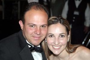José Manuel Portilla y Mariana de Portilla.