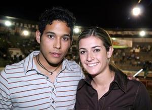 Memo Ávila y Neny Villarreal.