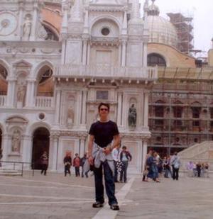 El pasado mes de enero el joven David Alonso Guerra Carrasco visitó Venecia en compañía de otros estudiantes del Club Rotario.