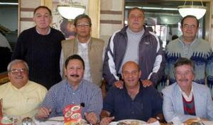 Raúl Castorena, Jaime Escalera, Eddy Murra, Antonio Saravia, Juan Manuel Romo, José Emilio Yee, Antonio Townes y Roberto Ladwing.
