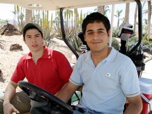 Nelson Reyna y Daniel Mery Reyna.