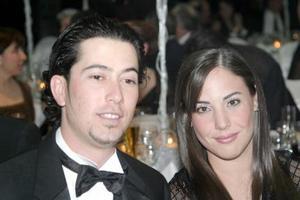 Ricardo Aguilar y Daniela Martínez.