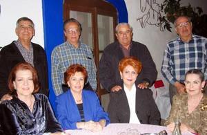 <b><u>09 de marzo </b></u><p> Luis Granados y Sra, Jorge Arenal y Sra, Marcelo Torres y Sra, Óscar Murra y Sra.
