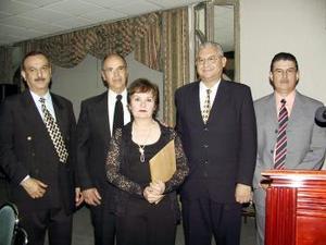 <b><u>10 de marzo </b><u><p> Óscar Rodríguez, Alonso de Alba, Blanca de Inés Martínez, Armando Hernández y Eduardo Campos.