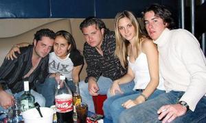 Mauricio Mansur, Soraya Zreik, Chilo Ortiz, Laura de la Parra y Nino De Nigris.