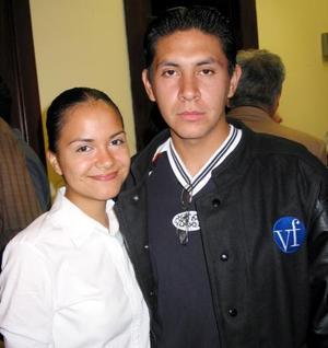 Mitzi Negrete y Daniel Muñoz.