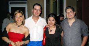 <u><b>13 de marzo </u> </b> <p> Ilse Aguilera, Javier Zúñiga, Brenda Iracheta y Enrique Rangel.