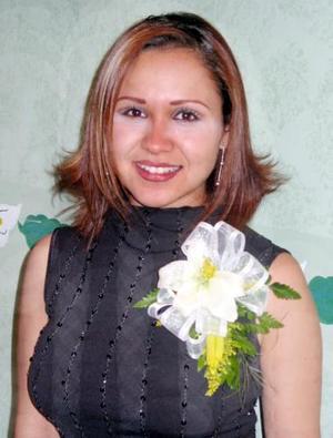 Luz Elena Jáuregui en su despedida de soltera.j