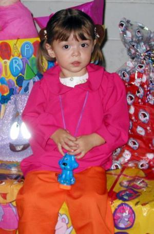 Paulina González Barrios festejó su tercer cumpleaños de vida con una divertida fiesta infantil que le ofrecieron sus papás.