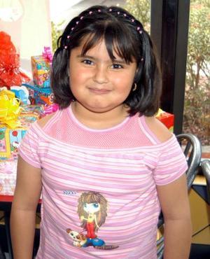 <b><u>13 de marzo</b></u><p> Alondra Mariely Orona Rentería festejó su sexto cumpleaños de vida con una divertida fiesta infantil.
