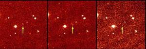 Sin embargo, el hallazgo fue posible porque los astrónomos usaron una cámara digital de enorme resolución conectada a un brazo robotizado que guiaba el telescopio.
