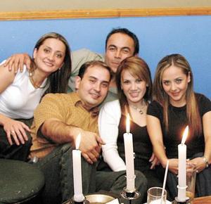 Jorge de Anda, Silvia Led, Roberto Dávila, Ismael Cepeda, Edna Pérez.