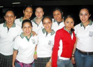 <u><b>15 de marzo </u> </b> <p> Melissa, Ángela, Sara, Cindi, Lupita, Ale, Ale Pérez y Caro.