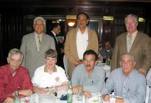 <b><u>14 de marzo </b></u><p> Gabriel Cornú, Jesús Martínez, Pedro Rivas, Rogelio Sada, Ángel Herrera, Pat Egan y Polen Callau.