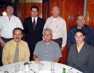 Alexander Roder, Raúl Zamorano, Antonio Pérez, Javier Ruiz, Raymundo Calvillo, Ricardo Ventura y Jesús Navarrete.