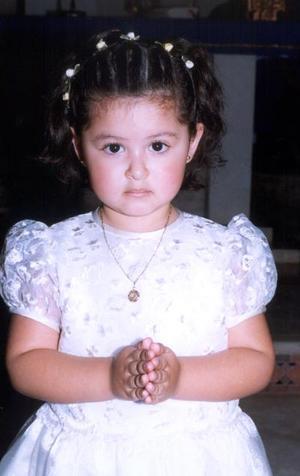 La pequeña María Paula Carrillo Giraldez festejó tres años de vida el pasado seis de marzo.