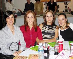 Laura Calleja, Susana Borbolla, Ana Borbolla y Malena Borbolla.