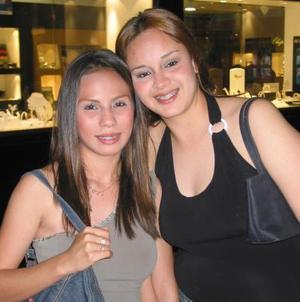 July Clareth Vaquera González y Celeste Elizalde Rubio