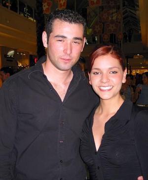 Toño Calderón y Emma Ibarra