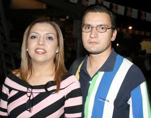 Adriana Ulloa y Luciano Gastelum.