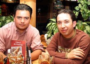 Ernesto Soto y Héctor Sáenz.