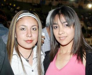 María Fernanda y Ruth Salas.