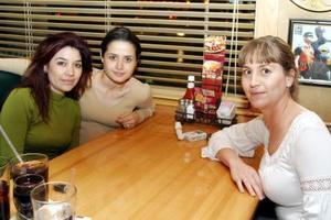 Sofía Ortiz, Alejandra de León y Verónica Jaidar