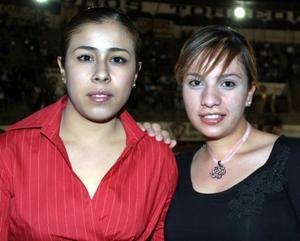 Adaia Santillán y Paola Sosa.