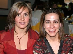 Adriana de Félix y Alejandra de Amezcua.